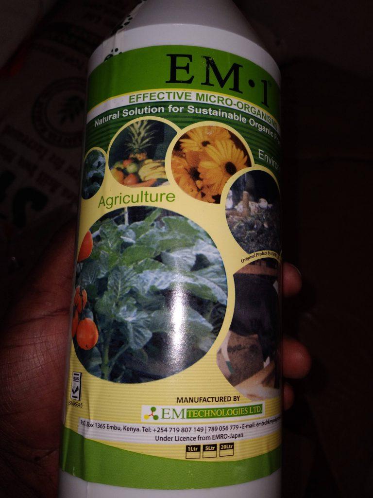 EM 1 Solution 1 litre